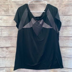 Lane Bryant black shirt